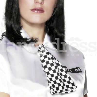 WPC Policewoman Set Scarf Epaulettes Police Fancy Dress Costume Accessory