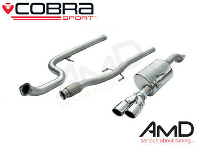 Cobra Sport Citroen DS3 1.6 THP 155 & Racing Non Resonated Cat Back Exhaust