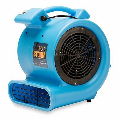 Air Mover Blower 115V Soleaire® Max Storm 2550 CFM Blue