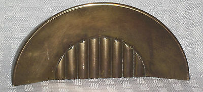 """Vintage Art Deco Deaw Pulls Solid Brass #9283 5 1/8"""" W  c1930's Collectible"""