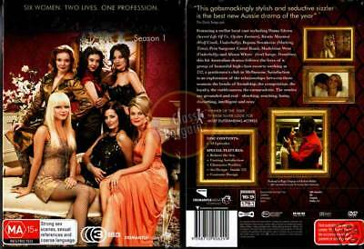 SATISFACTION 1st Season 1 =3-DVD SET escort service NEW (Region 4 Australia)