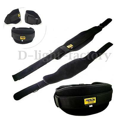 Neoprene Weight Lifting Belt Gym Fitness Wide Back Support Training Train Sport