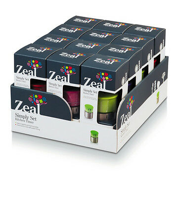 CKS Zeal Magnetic Stainless steel timer - Various Colours available