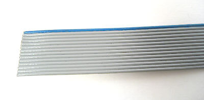14 Conductor Gray Ribbon Cable: 5 Foot Piece