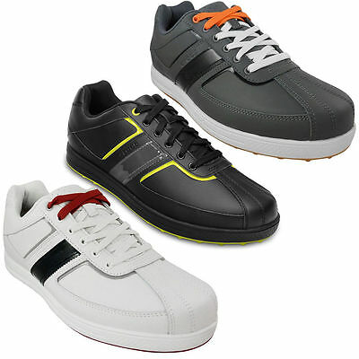 New Crocs Tyne Spikeless Waterproof Leather Sport Lite Golf Shoes Mens All Sizes
