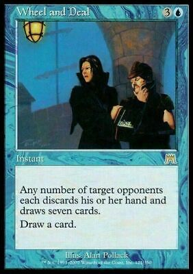 Wheel and Deal ~ Onslaught ~ NearMint/Excellent+ ~ Magic The Gathering