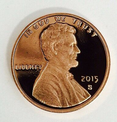 2015 S Lincoln Shield Cent Gem Deep Cameo Proof Penny