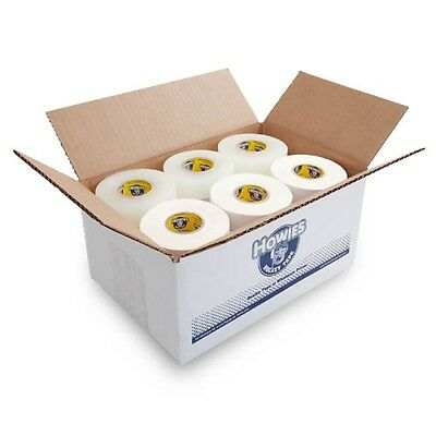 Bulk Hockey Tape - 30 Rolls of White (15) and Clear (15) Howies Hockey Tape