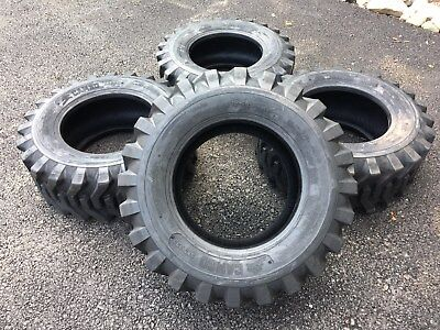 4 NEW 12-16.5 Skid Steer Tires Camso sks332 12X16.5 - For Bobcat & others