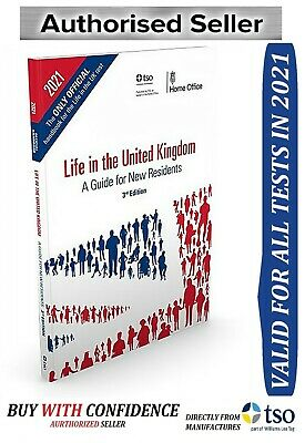 New exam book for life in the UK test preparation settlement application spouse