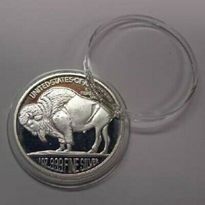 50 Airtite Coin Holder Capsule Direct Fit H39 1Oz Silver Or Copper Rounds