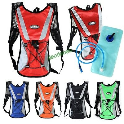 2 Litre Hydration Pack Water Rucksack/backpack Cycling Bladder Bag New