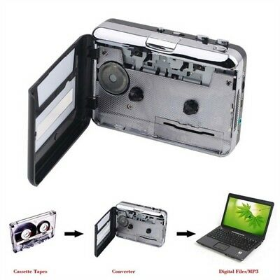 Tape to PC, Super Portable USB Cassette-to-MP3 Converter Capture recorder