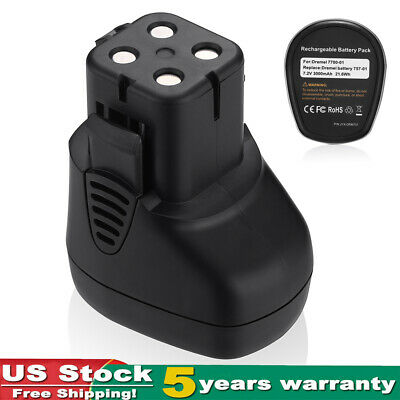 2500mAh Li-ion Battery For Milwaukee M12 48-11-2420 48-11-2460 Cordless Tools