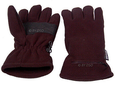 Mens Battery Operated Thinsulate Thermal Heat Retention Fleece Heated Gloves 3M