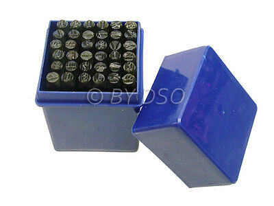 Hilka 36 Piece 5mm Metal Letter A - Z & Number 0 - 8 Stamps Punches