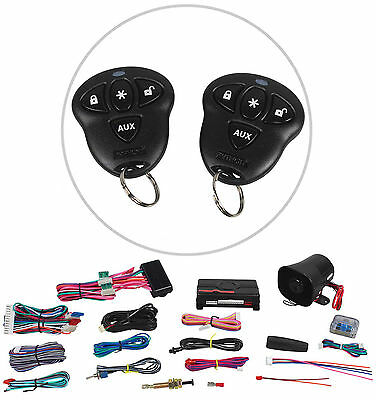 Python 5103P Car Remote Start & Keyless Entry Security Alarm System W/2 Remotes
