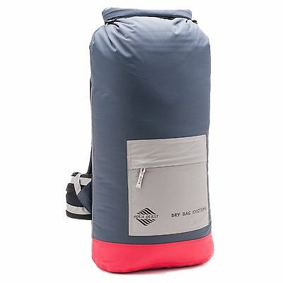 Aqua Quest Sport 25 Pro - 100% Waterproof Dry Bag Backpack - 25 L, Red + Reflect