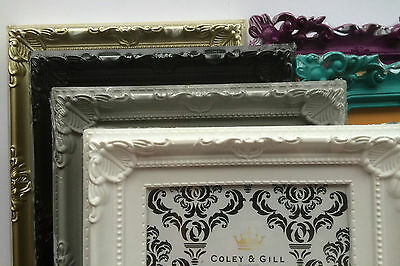 Photo Frames Ornate Shabby Chic Vintage Antique French Baroque Style Home Decor