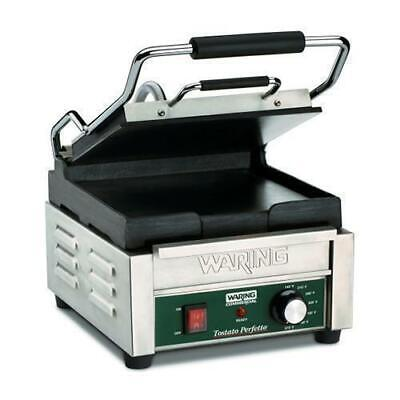 Waring Compact Panini Grill 24x23.5cm Plate, Commercial Quality Contact Grilling