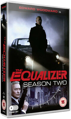 The Equalizer: Series 2 DVD (2012) Edward Woodward ***NEW***
