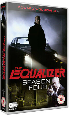 The Equalizer: Series 4 DVD (2012) Edward Woodward ***NEW***