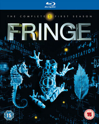 Fringe: The Complete First Season DVD (2009) Anna Torv cert 15 5 discs