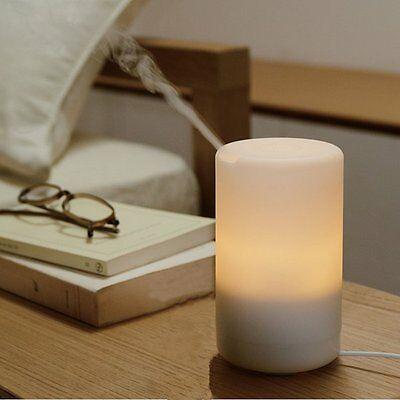 LED USB Essential Oil Ultrasonic Air Humidifier Aroma Diffuser UK