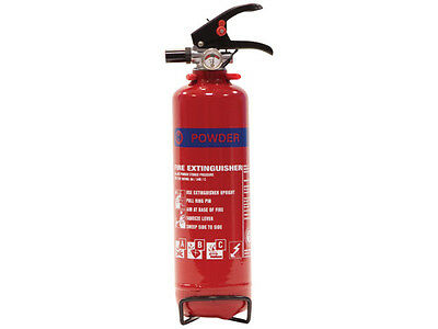 1 /2 / 4 / 6 or 9 KG Dry Powder Fire Extinguiser s - New - 24 Hour Courier