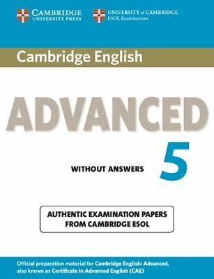 Cambridge English Advanced 5 Student's Book without Answers: Authentic Examinati