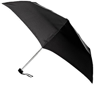 Fulton Ladies Mens Ultralite -1 Compact Folding Umbrella Black
