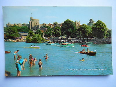 """CPSM """"Windsor Castle and the river Thames"""""""