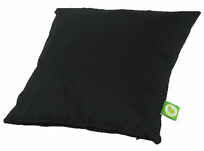 Waterproof Outdoor Garden Furniture Seat Bench Cushion Filled with Pad - Black