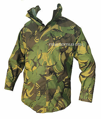 DPM/Woodland Camo GORETEX JACKET - Waterproof - British Army - Grade 1