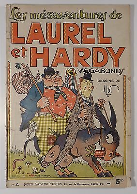 Laurel et Hardy vagabonds Mat EO SPE 1937 BE