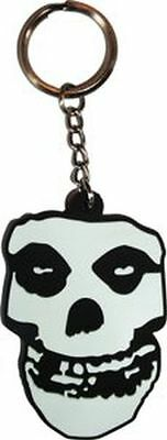 Misfits - Skull Logo - Rubber Keychain - Brand New - Music Band 0223