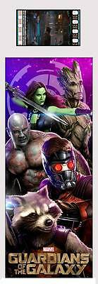 GUARDIANS OF THE GALAXY Marvel Comics MOVIE Plastic Laminate FILM CELL BOOKMARK