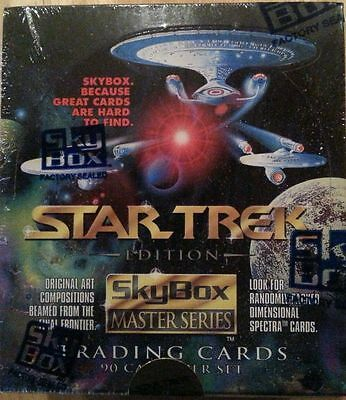 Star Trek Edition Skybox Master 1993 Series Factory Sealed Trading Card Box!