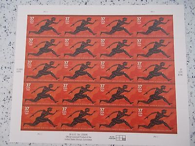 #3863 2003 ATHENS GREECE OLYMPICS Mint MHN SHEET  20 37 Cent US Postage Stamps