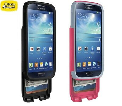 New Authentic OtterBox Commuter Wallet Case For Samsung Galaxy S 4