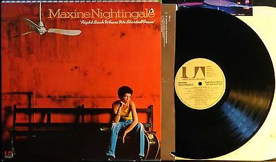 KLP71 - Maxine Nightingale - Right back where we started from (UA-LA626-G) US LP