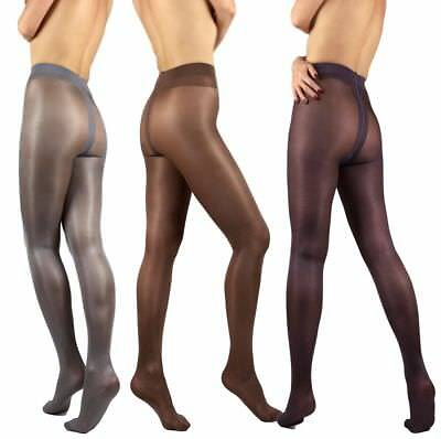 Classic Quality Semi Opaque Glossy 40 denier Tights Pantyhose Shimmer Gloss