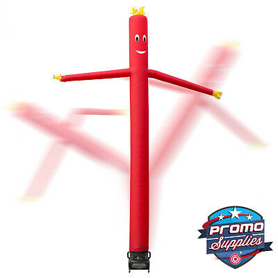 20' Inflatable Dancer Tube Dancing Guy + Blower Fan - Red