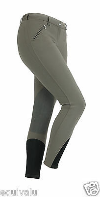 NEW Shires Ladies / Womens Portland Performance Breeches - Olive - ALL SIZES