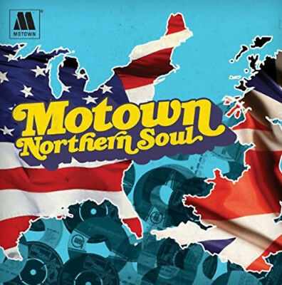 Various Artists : Motown Northern Soul CD (2014) ***NEW***
