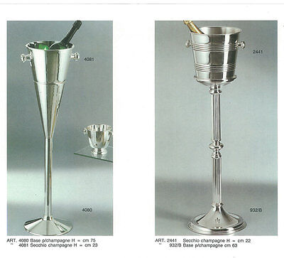Silver Base & Champagne-Wine Cooler