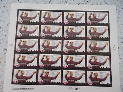 #3839 2003 HENRY MANCINI MHN SHEET/PANE 20 37 Cent US Postage Stamps Mint