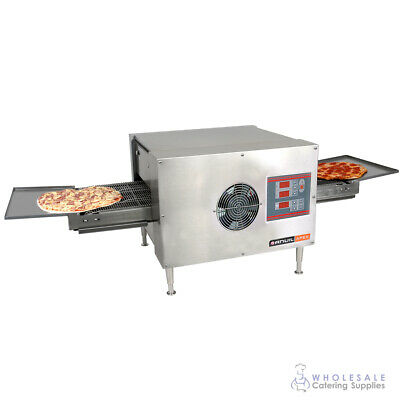 Conveyor Pizza Oven 1499x674x435mm Anvil Apex Pizzas Commercial Equipment Ovens