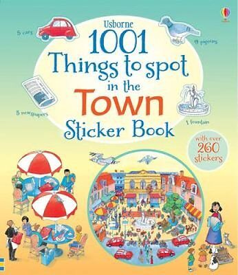 1001 Things to Spot in the Town Sticker Book by Teri Gower 9781409583370