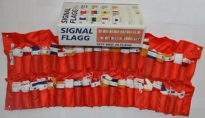 Internationaler Flaggensatz Signalflaggen 40 Fahnen Flaggengröße 300 x 420mm